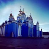圣迈克尔的大教堂,基辅 图库摄影