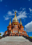 圣迈克尔的大教堂, Izhevsk 免版税库存照片