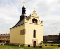 圣迈克尔的教会的看法  图库摄影