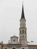 圣迈克尔的教会,维也纳 库存照片