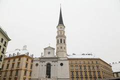 圣迈克尔的教会,维也纳 免版税图库摄影