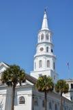 圣迈克尔的主教制度的教会 库存图片