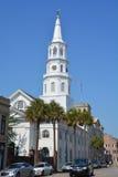 圣迈克尔的主教制度的教会 免版税库存图片