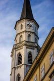 圣迈克尔高耸在维也纳 免版税库存图片