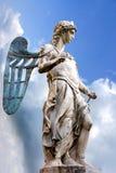 圣迈克尔-雕象Raffaello da Montelupo 免版税库存照片