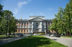 圣迈克尔` s城堡,也称Mikhailovsky城堡或 免版税库存图片