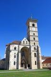 圣迈克尔` s大教堂在阿尔巴尤利亚城堡, 免版税库存照片