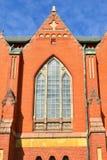 圣迈克尔` s教会是在中央图尔库位于的教会 它以天使s命名的`迈克尔和在1905年被完成了 芬兰 Fr 免版税库存图片