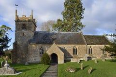 圣迈克尔` s教会, Blackford 库存照片