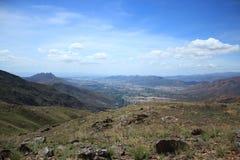圣迭戈谷的小山macomaco  库存图片
