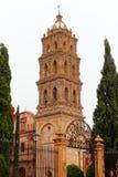 圣阿古斯丁女修道院,圣路易斯波托西我 免版税库存图片
