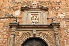 圣阿古斯丁教会,阿尔玛格罗,卡斯蒂利亚拉曼查,西班牙 图库摄影