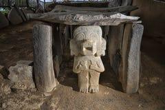 圣阿古斯丁考古学公园哥伦比亚 免版税库存图片