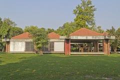 圣雄甘地博物馆在艾哈迈达巴德 库存照片