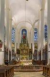 圣雅各布,施特劳宾,德国大教堂  库存图片