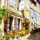 圣雷米,典型的街道 免版税库存图片
