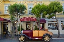 圣雷莫旅馆在旧金山加利福尼亚 图库摄影