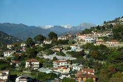 圣雷莫,意大利,看法 免版税图库摄影