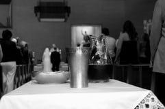 圣餐断送婚礼 库存照片