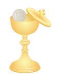 圣餐杯子 免版税库存照片