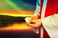 圣餐 免版税库存照片