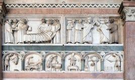 圣马丁和年的月的劳方故事  库存照片