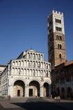 圣马丁大教堂在卢卡(托斯卡纳,意大利) 免版税库存照片