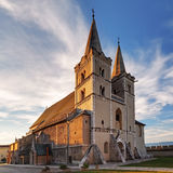 圣马丁大教堂,章节Spisska,斯洛伐克 免版税库存图片