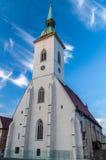 圣马丁大教堂 免版税库存图片