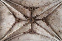 圣马丁教会- Luche -法国 库存照片