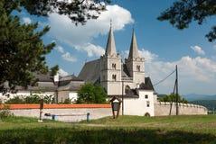 圣马丁的大教堂, SpiÅ ¡ skà ¡ Kapitula, SpiÅ ¡ ské Podhradie 免版税库存图片