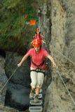 圣马丁省峡谷 库存照片