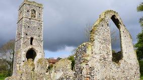 圣马丁` s教会废墟  库存照片