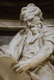 圣马修雕塑  免版税图库摄影