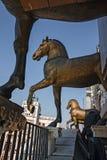 圣马克古铜色马  免版税库存照片