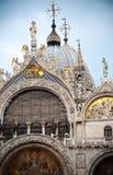 圣马克大教堂在威尼斯 免版税库存照片