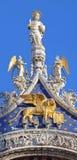 圣马克大教堂 免版税库存图片