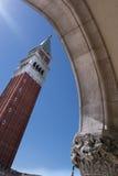 圣马克广场塔,威尼斯 免版税库存图片