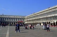 圣马克广场,威尼斯 免版税库存照片