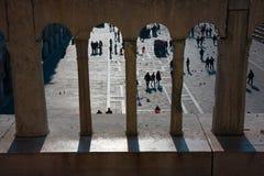圣马克广场,看法从上面 免版税图库摄影