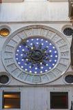 圣马克时钟后面 免版税库存照片