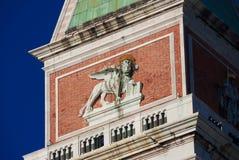 圣马克狮子在威尼斯 库存照片