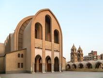 圣马克的科普特人的正统大教堂 免版税库存照片