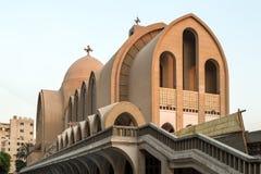 圣马克的科普特人的正统大教堂 库存照片