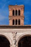 圣马克老钟楼在罗马 免版税库存图片