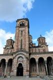 圣马克贝尔格莱德塞尔维亚塞尔维亚基督徒东正教  库存照片