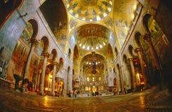 圣马克& x27; s大教堂在威尼斯 免版税库存图片