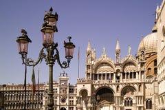 圣马克` s大教堂威尼斯,意大利 库存照片