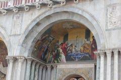圣马克` s大教堂,威尼斯,意大利 免版税图库摄影
