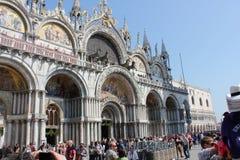 圣马克` s大教堂,威尼斯,意大利 图库摄影